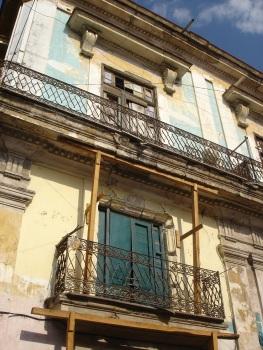 Faded architecture of Havana, Cuba