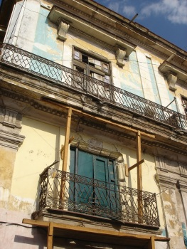 Faded architecture of Havana, Cuba
