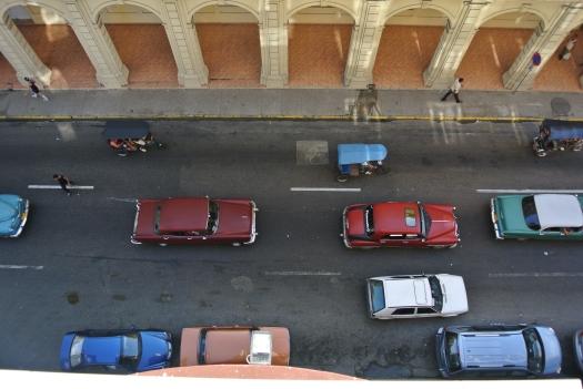 Street of vintage cars, Havana, Cuba