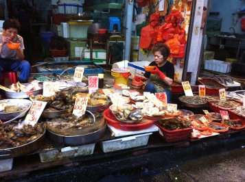 fish at wet market