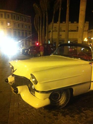 Vintage car close-up, Havana, Cuba