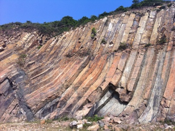 volcanic rock in Sai Kung