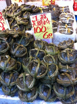 Wet Market green crabs