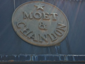 Moet & Chandon plaque, France