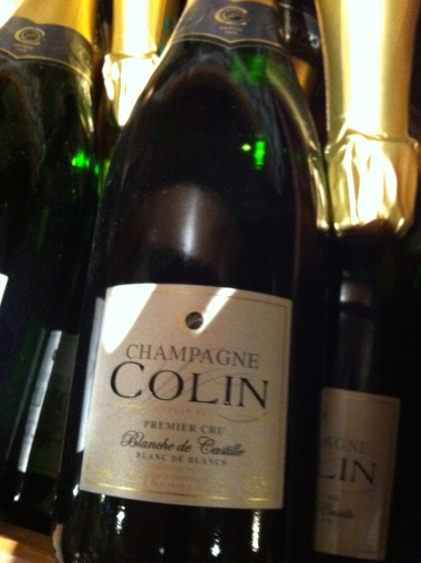 Champagne Colin label
