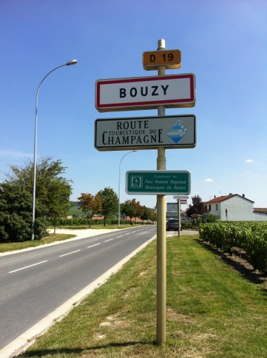 Bouzy on the Champagne Route, France