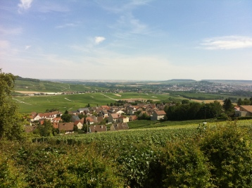 Champagne-Ardenne views, France