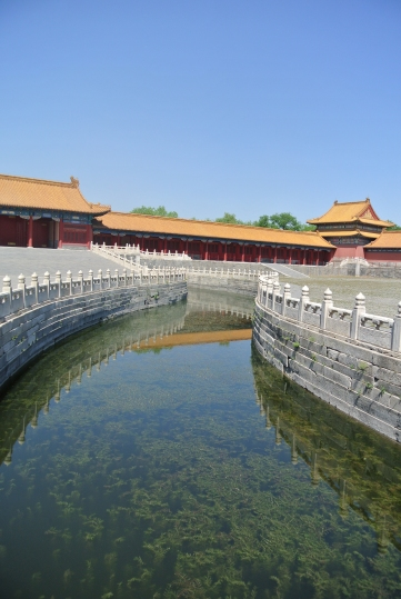 River running in the Forbidden City
