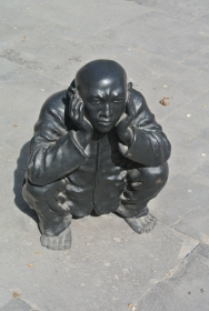Hear no evil figure, Beijing