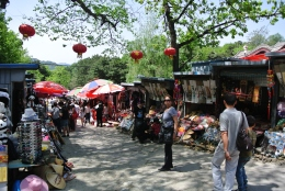 Souvenir market, Great Wall of China, Beijing