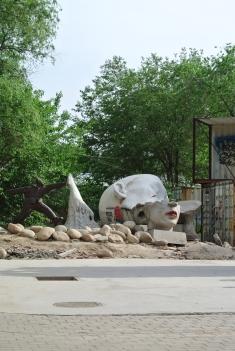 Area of broken art, Beijing