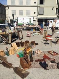 flea market, Avignon old town