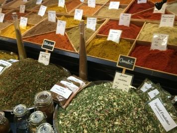 Spice market, Les Halles, Avignon old town