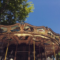 Carousel, Avignon old town