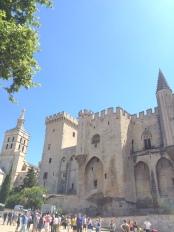 Palais les Papes, Avignon old town