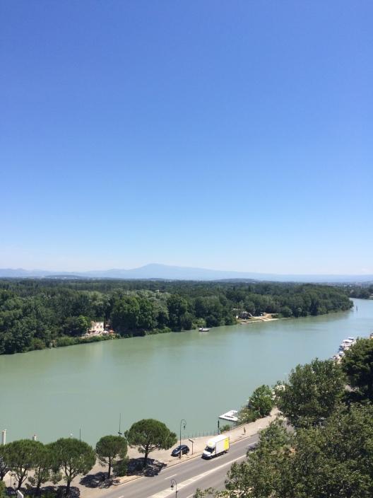 Rhone, Avignon, France