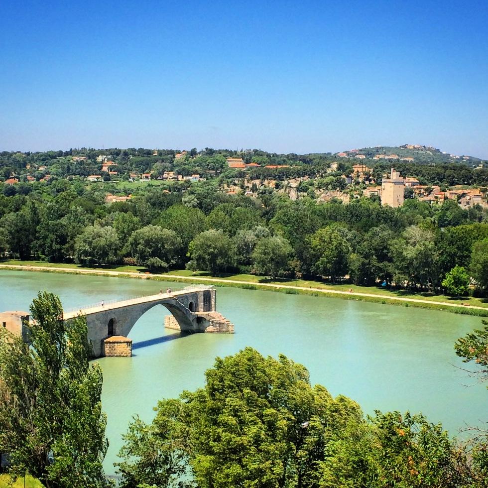 Pont d'Avignon, Avignon bridge