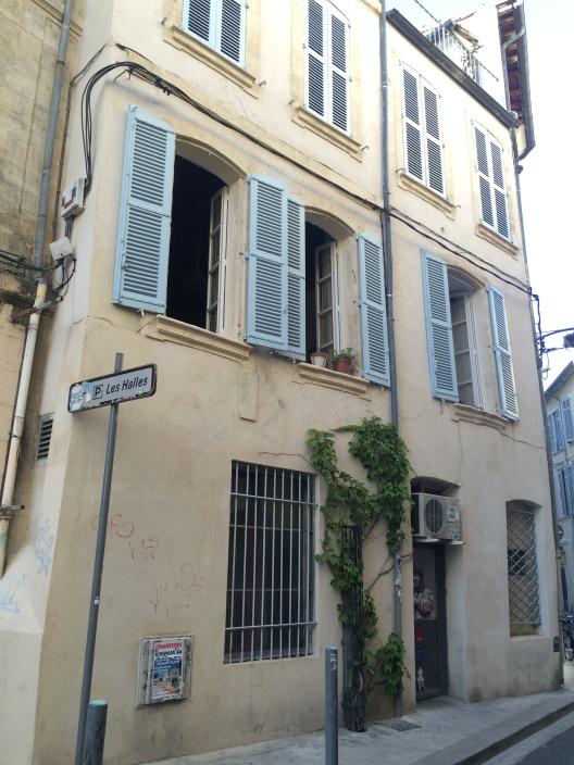 Blue shutters, Avignon old town