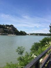 Rhone, Avignon