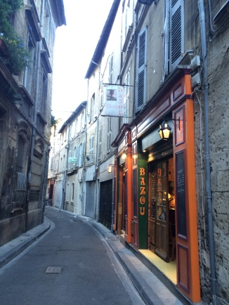 Bazou restaurant, Avignon