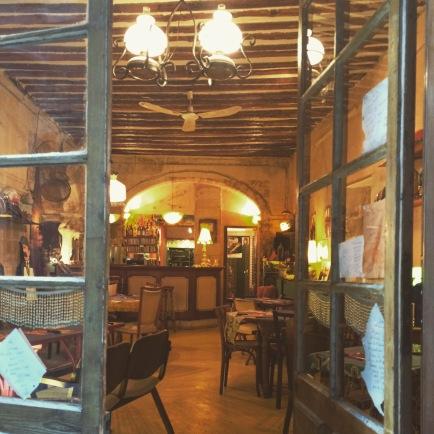 Bazou restaurant, Avignon old town