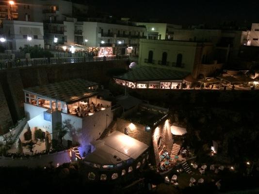 Polignano a Mare night life, Puglia