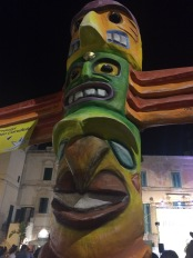 Totem pole, Polignano a Mare old town