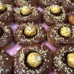 Ferrero Rocher doughnuts, Neighbourgoods Market