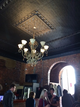 Chandelier at Kitcheners