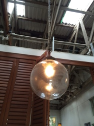 Lighting in Bean There roastery