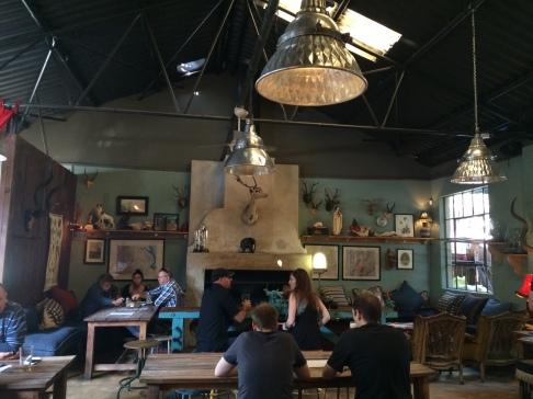 Inside Stanley Beer Yard bar