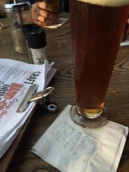 Craft beer at Stanley Beer Yard