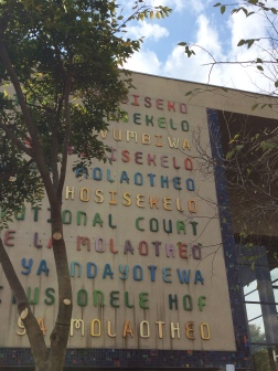 Constitutional Court, Joburg