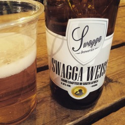 Local beer Swagga Weiss
