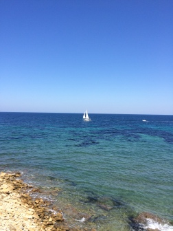 Ionian sea, Gallipoli, Puglia, Italy